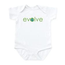 Evolve - planet earth Infant Bodysuit
