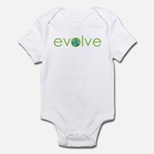 Evolve - planet earth Infant Bodysuit