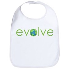 Evolve - planet earth Bib