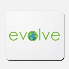 Evolve - planet earth Mousepad