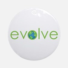 Evolve - planet earth Ornament (Round)