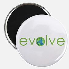 Evolve - planet earth Magnet