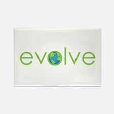 Evolve - planet earth Rectangle Magnet (100 pack)