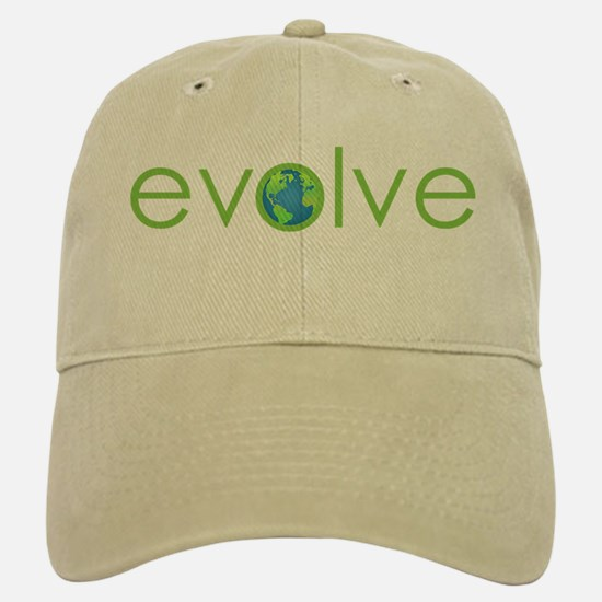 Evolve - planet earth Baseball Baseball Cap