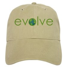 Evolve - planet earth Baseball Cap