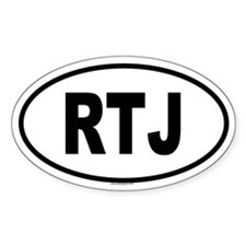 RTJ Oval Decal