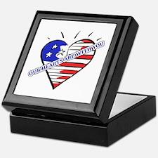 Valentine's for Military Keepsake Box