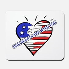 Valentine's for Military Mousepad