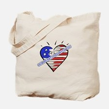Valentine's for Military Tote Bag