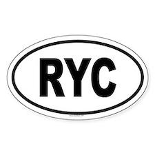 RYC Oval Decal
