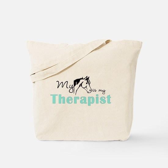 Horse Therapist Equestrian Tote Bag