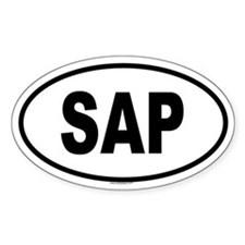 SAP Oval Decal