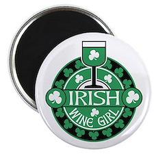Irish Wine Girl Magnet