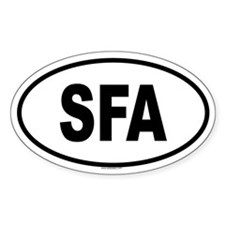 SFA Oval Decal