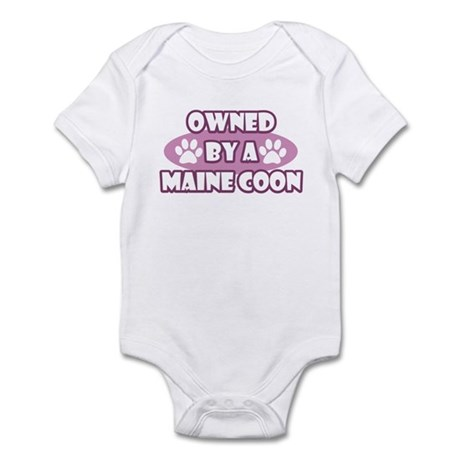 Owned By A Maine Coon Infant Bodysuit