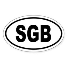 SGB Oval Decal