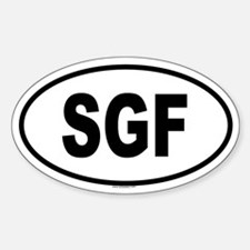 SGF Oval Decal