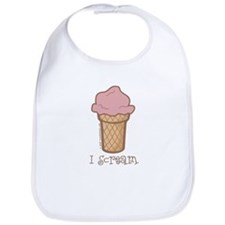 I Scream - Bib