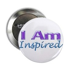 "I Am Inspired 2.25"" Button"