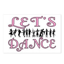 Let's Dance Postcards (Package of 8)