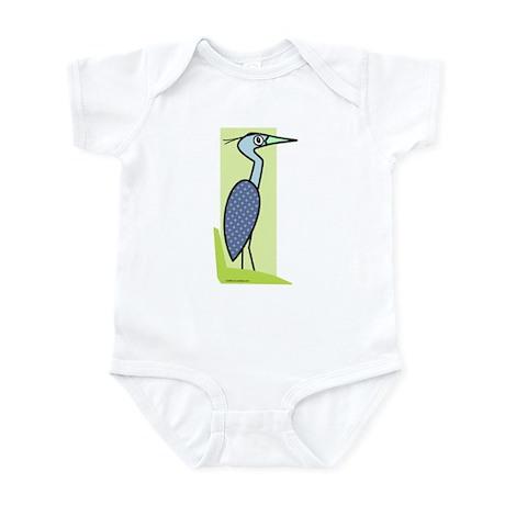 Great Blue Heron Infant Bodysuit