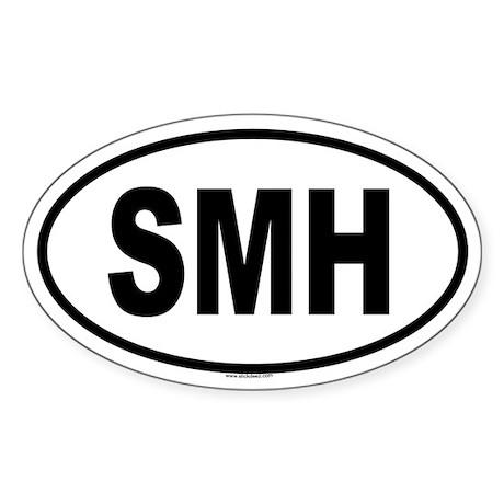 SMH Oval Sticker