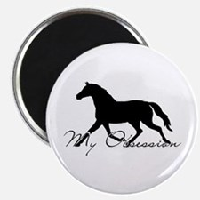 Horse Obsession Magnet