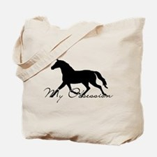 Horse Obsession Equestrian Tote Bag