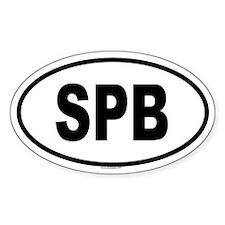 SPB Oval Decal