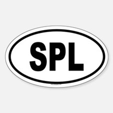 SPL Oval Decal