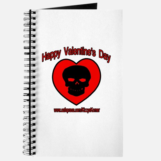 VALENTINE'S SKULL Journal