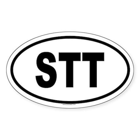 STT Oval Sticker