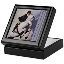 Jumper Horse Keepsake Box