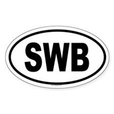 SWB Oval Decal