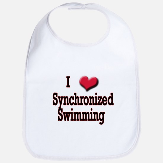 I Love (Heart) Synchronized S Bib
