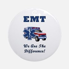EMT We Are The Difference Ornament (Round)