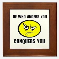 ANGER Framed Tile