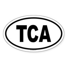 TCA Oval Decal