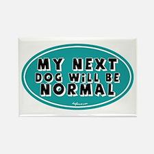 Normal Next Dog Rectangle Magnet