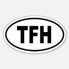 TFH Oval Decal