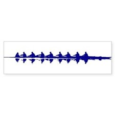 BLUE CREW Bumper Bumper Sticker
