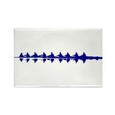 BLUE CREW Rectangle Magnet