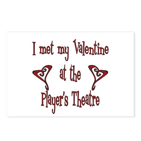 Player's Theatre Postcards (Package of 8)