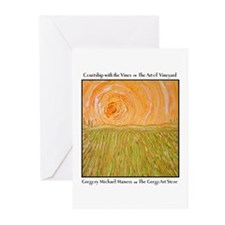 Courtship with the Vines Greeting Cards (Package o