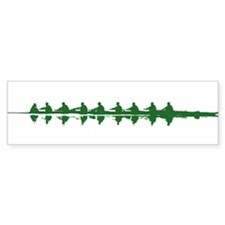 GREEN CREW Bumper Bumper Sticker