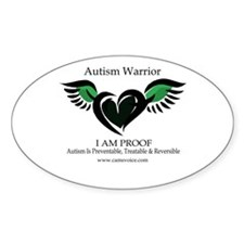 Autism Warrior. Decal
