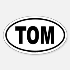 TOM Oval Decal