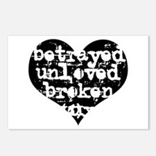 Betrayed Postcards (Package of 8)