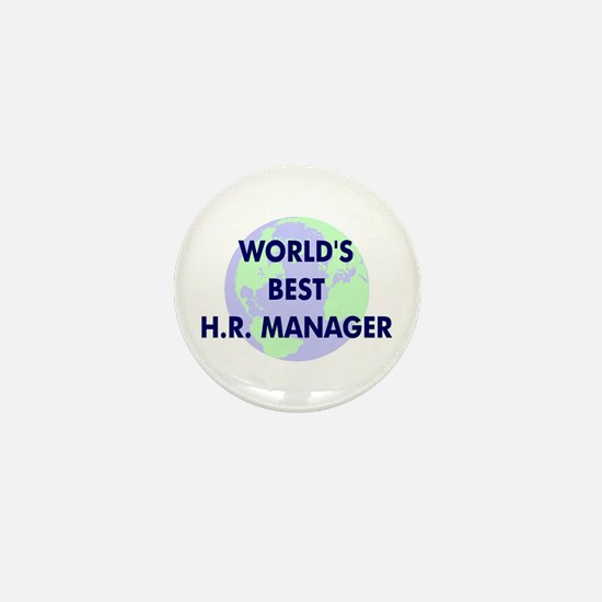 World's Best Human Resources Mini Button