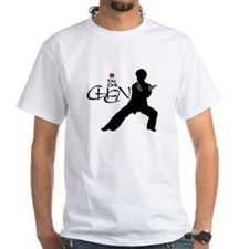 Chen Tai Chi<br>Large Graphic<br>Unisex White Tee